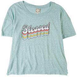 Tru Self Plus Blessed Round Neck T-Shirt