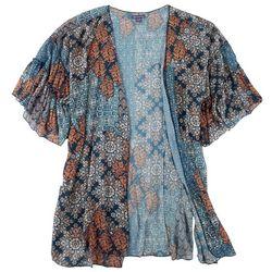 Democracy Plus Ruffled Kimono