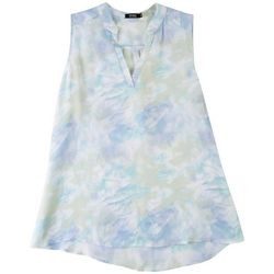 Cure Apparel Plus Clouds Sleeveless Top
