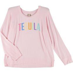 Tru Self Plus Tequila Long Sleeve Graphic Sweater