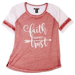 Plus Faith Requires Trust T-Shirt