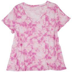 Dept 222 Plus Classic Tie-Dye Single Chest Pocket T-Shirt