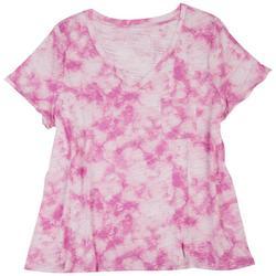 Plus Classic Tie-Dye Single Chest Pocket T-Shirt