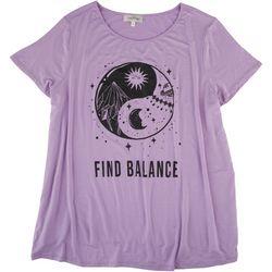 Flora & Sage Plus Find Balance T-Shirt