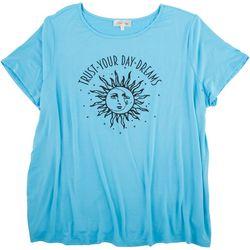 Flora & Sage Plus Trust Your Day Dreams T-Shirt