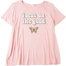 Flora & Sage Plus Focus On The Good Tshirt