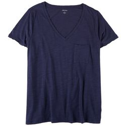 Dept 222 Plus Chest Pocket Short Sleeve Top