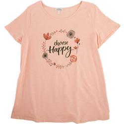 Plus Choose Happy T-shirt