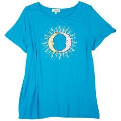 Flora & Sage Plus Moon Love T-Shirt
