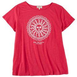 Flora & Sage Plus Speak the Truth You Seek T-shirt