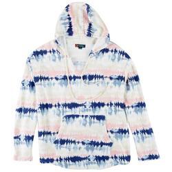 Workshop Plus Electric Tie-dye Hooded Sweater
