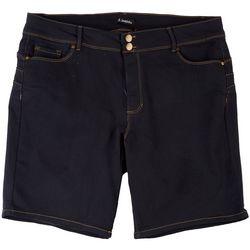 D. Jeans Plus Solid Jean Shorts