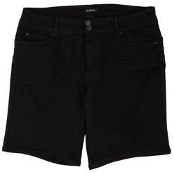 D. Jeans Plus Dual Button Closure Jean Shorts