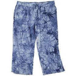 Ryalty  by YMI Plus Tie-Dye Loose Beachy Capris