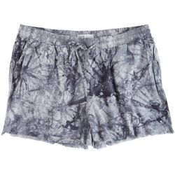 YMI Plus Tye Dye Printed Shorts With Pockets