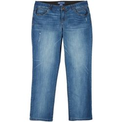 Democracy Plus Ab-Solution Cropped Denim Ankle Jeans