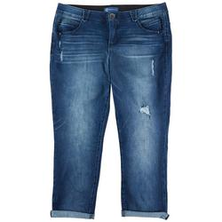 Plus Womens Jeans With Cuff