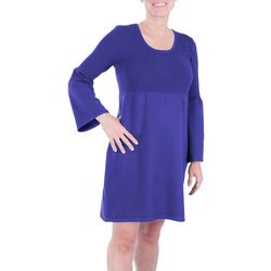 NY Collection Petite Empire Sweater Dress