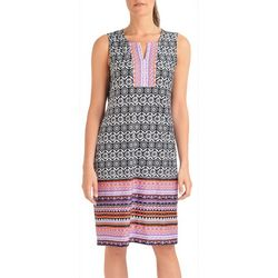 NY Collection Petite Sleeveless Shift Dress