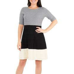 Womens Colorblock Dress