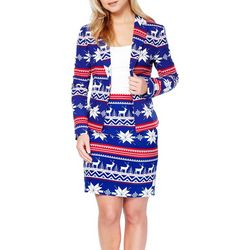 Opposuits Womens Miss Rudolph Skirt Suit