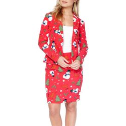 Opposuits Womens Christmiss Suit Set