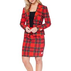 Opposuits Womens Lumberjackie Skirt Suit