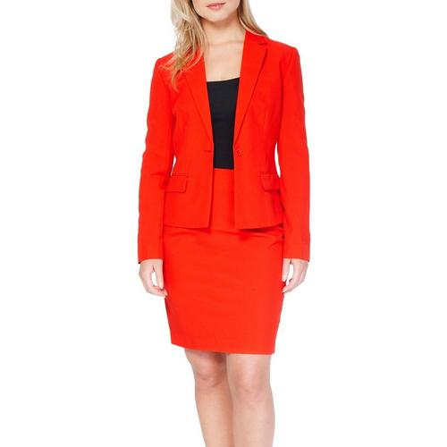 Opposuits Womens Red Ruby Skirt Suit Bealls Florida