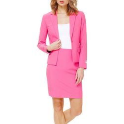 Opposuits Womens Ms. Pink Skirt Suit