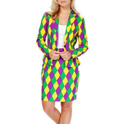 Opposuits Womens Harlequeen Skirt Suit