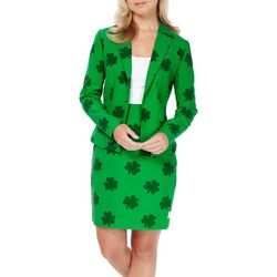 Opposuits Womens St. Patrick's Girl Skirt Suit