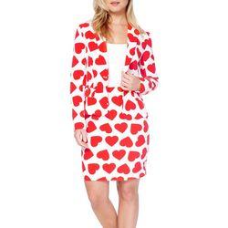 Opposuits Womens Queen of Hearts Skirt Suit