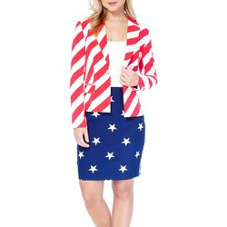 Opposuits Womens American Women Skirt Suit