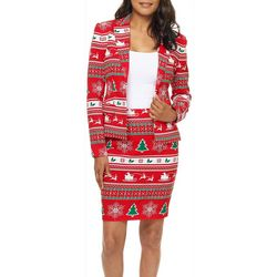 Opposuits Womens Winter Women Skirt Suit