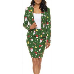 Opposuits Womens Santababe Skirt Suit