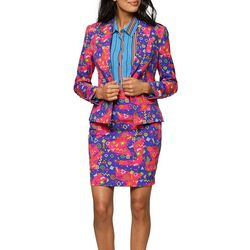 Opposuits Womens The Fresh Princess Skirt Suit