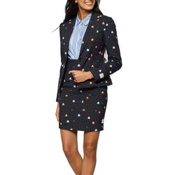 Opposuits Womens Madam Pac-Man Skirt Suit