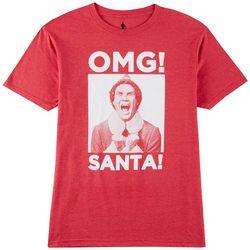 Ripple Junction Mens Elf OMG Santa T-Shirt