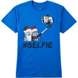 Horizon Mens Selfie Cats T-Shirt