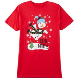 Horizon Mens Oh No Snowman T-Shirt
