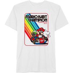Mario Kart Mens Mario Kart Champion Short Sleeve T-Shirt