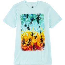 Ocean Current Mens Diamond & Palm Tree T-Shirt
