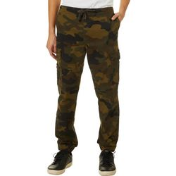Max's Mens Camo Athletic Fit Cargo Jogger Pants