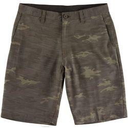 Burnside Mens Camouflage Hybrid Shorts