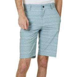 Distortion Mens Distorted Stripe Hybrid Shorts