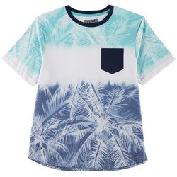 Distortion Mens Sublimated Pocket Crew T-Shirt