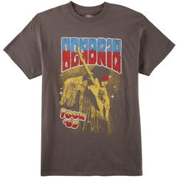 Philcos Mens Jimi Hendrix Tour Graphic T-Shirt