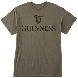 Philcos Mens Guinness Harp Logo Graphic T-Shirt