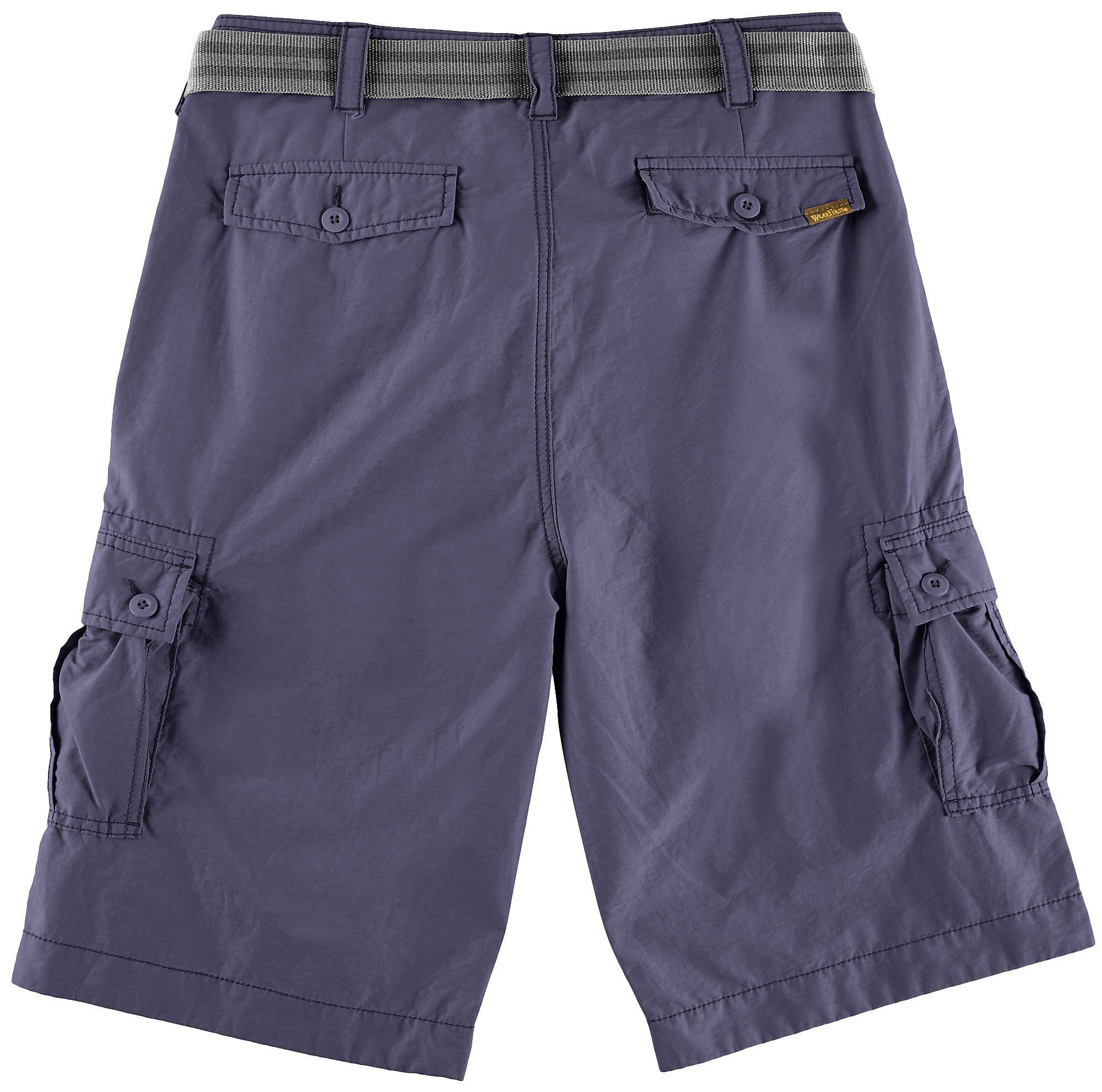 29fdabbdc5 Wearfirst-Mens-Solid-Cargo-Shorts thumbnail 14
