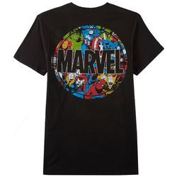 Mad Engine Mens Marvel Comics Collage T-Shirt